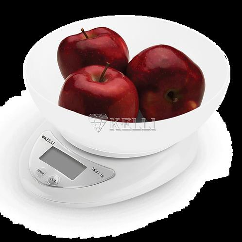 Весы Kelli KL-1530 5,0кг кухонные электронные с чашей