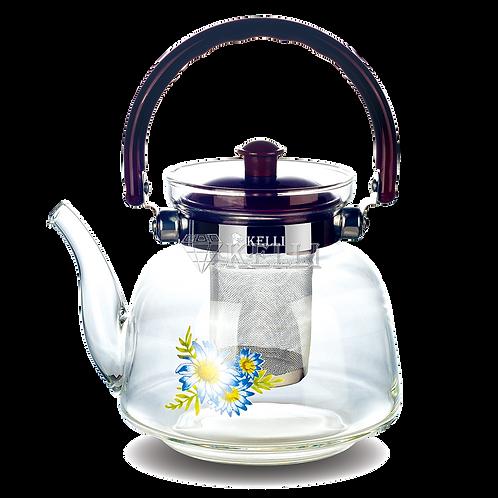 Заварочный чайник Kelli KL-3004 стекло 2,2л