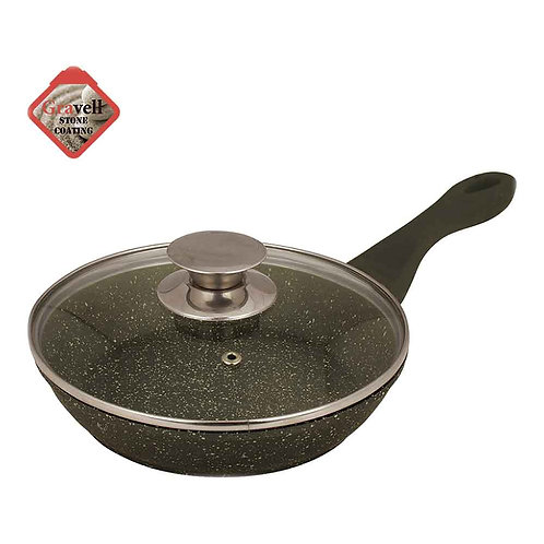 Сковорода Zeidan Z-90179 20см - 28см  каменное покрытие
