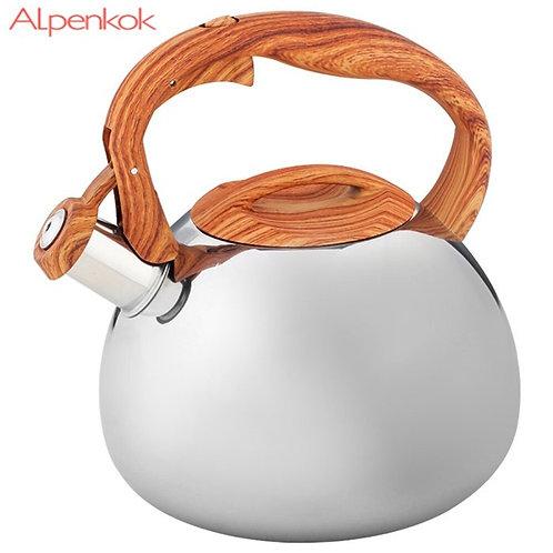 Чайник Alpenkok AK-517 объем 3,0л со свистком