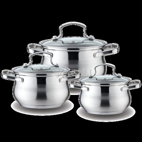 Набор посуды Kelli KL-4209 6 пр
