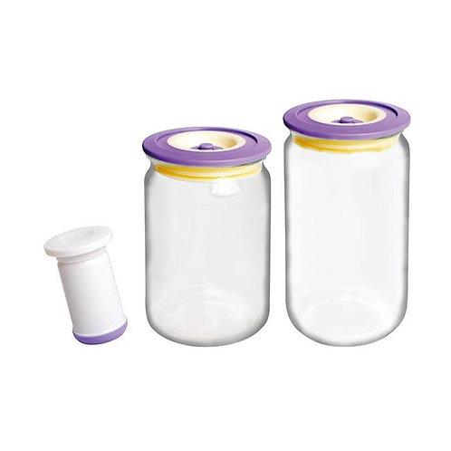 Набор вакуумных банок Bayerhoff BH-5190 2шт с насосом