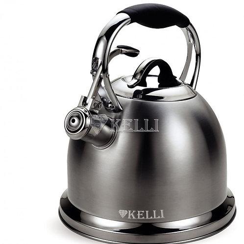 Чайник Kelli KL-4523 нерж обьем 3,0л