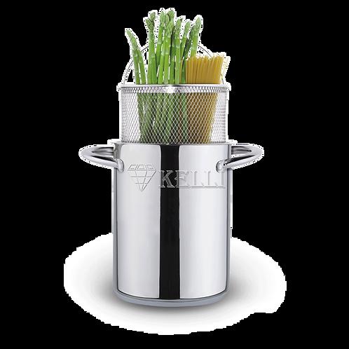 Кастрюля Kelli KL-4270 Овощеварка 4,2л для варки спагетти.