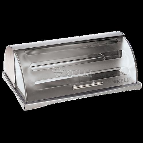 Хлебница Kelli KL-2119 металл пластик 39*28,5*15см