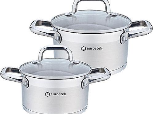Набор посуды Eurostek ES-1207 4пр нерж