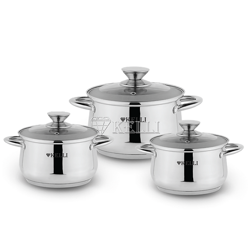 Набор посуды Kelli KL-4247 6 пр