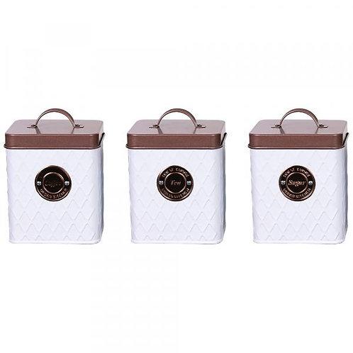 Набор банок для хранения Zeidan Z-1112 3пр обьем 1550мл
