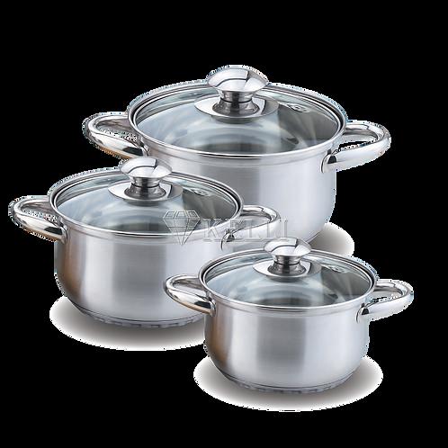 Набор посуды Kelli KL-4201 6 предметов