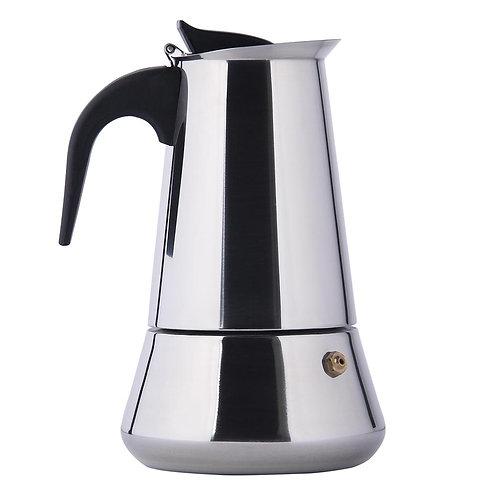 Гейзерная кофеварка 2 чашки для индукционной плиты