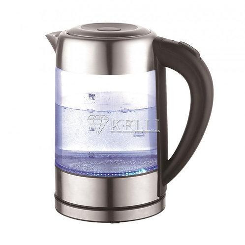 Чайник Kelli KL-1371 стекло 2200Вт обьем 1,7л