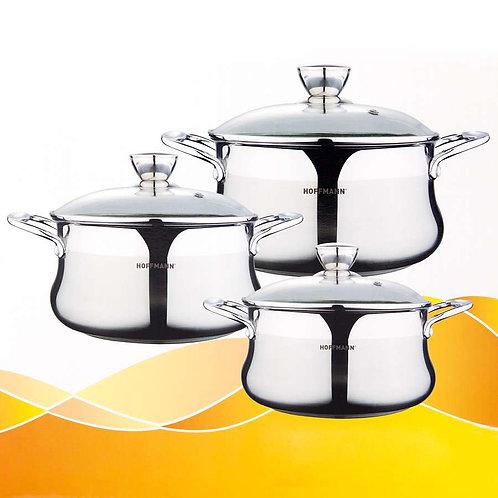 Набор посуды Hoffmann  6пр НМ 5778