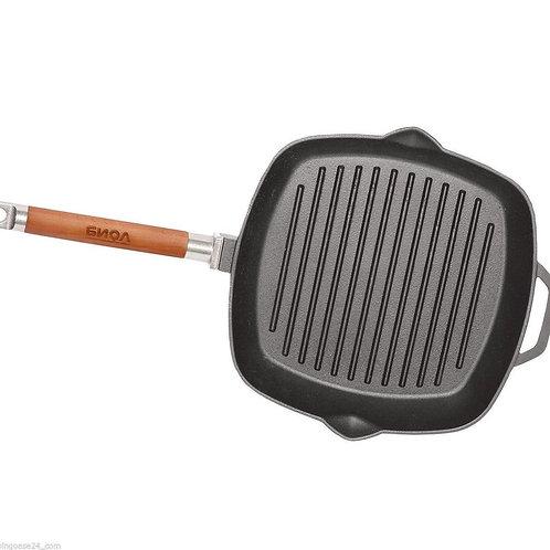 Сковорода-гриль чугунная БИОЛ  24см 26см 28см