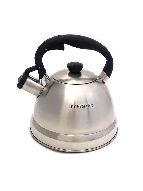 Чайник hoffmann  со свистком 2,2 л