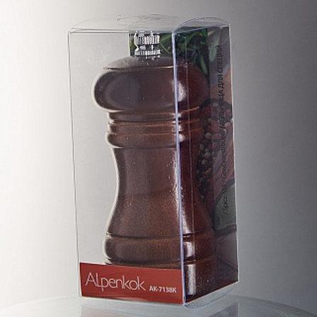 Мельница для перца АК-7138К корич,дерево 11,5см