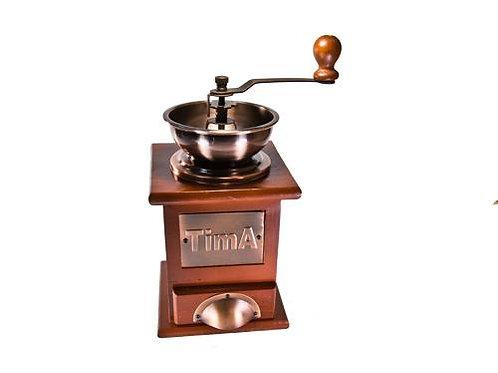 Кофемолка механическая арт. SL-109 Кофемолка TimA ручная деревянная