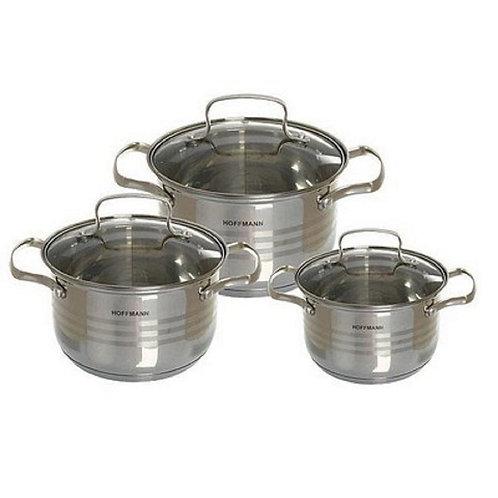 Набор посуды Hoffmann  6 предметов  HF-5106