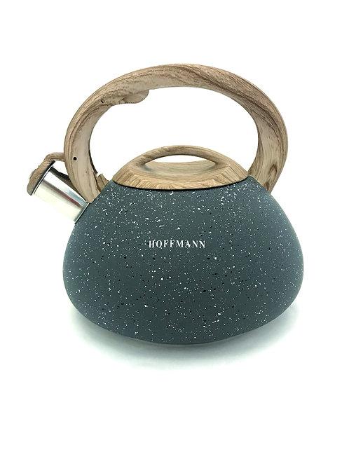Чайник hoffmann со свистком 3,3 л