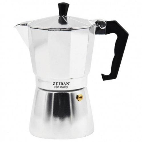 Кофеварка гейзерная Zeidan Z-4107 300мл 6 чашки алюминий