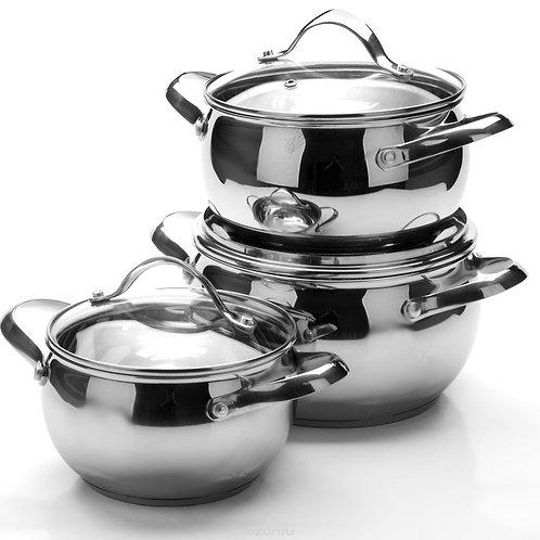 Набор посуды  Hoffmann 5826 6 пр.