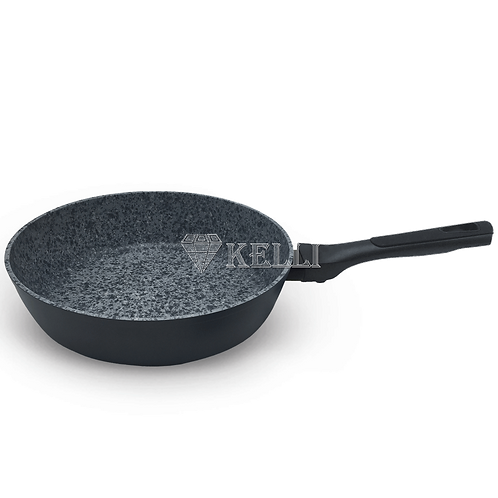 Сковорода Kelli KL-4071-24 с гранитным покрытием 24см- 28см  2 ЦВЕТА