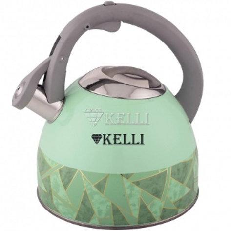 Чайник Kelli KL-4526 нерж обьем 3,0л