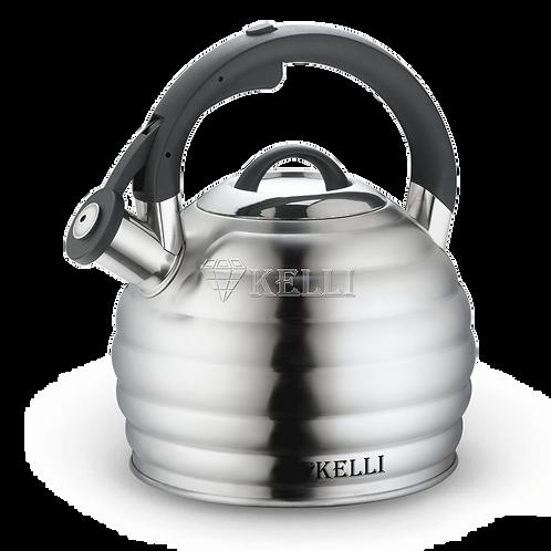 Чайник Kelli KL-4513 нерж обьем 3,0л