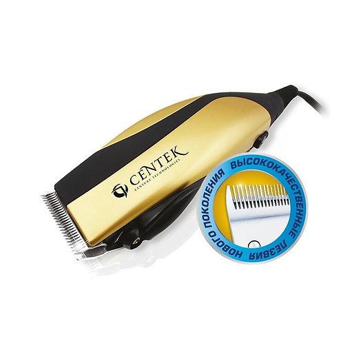 Машинка для стрижки Centek CT-2115 черный/золото
