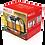 Thumbnail: Заварочный чайник Kelli KL-3089 жаропр стекло 1,6л.