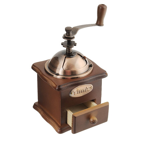 Кофемолка механическая арт. SL-008 Кофемолка TimA ручная деревянная