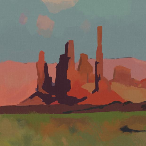 Red Rocks, 2020
