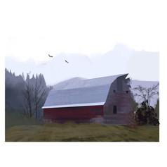 Old Barn, 2020