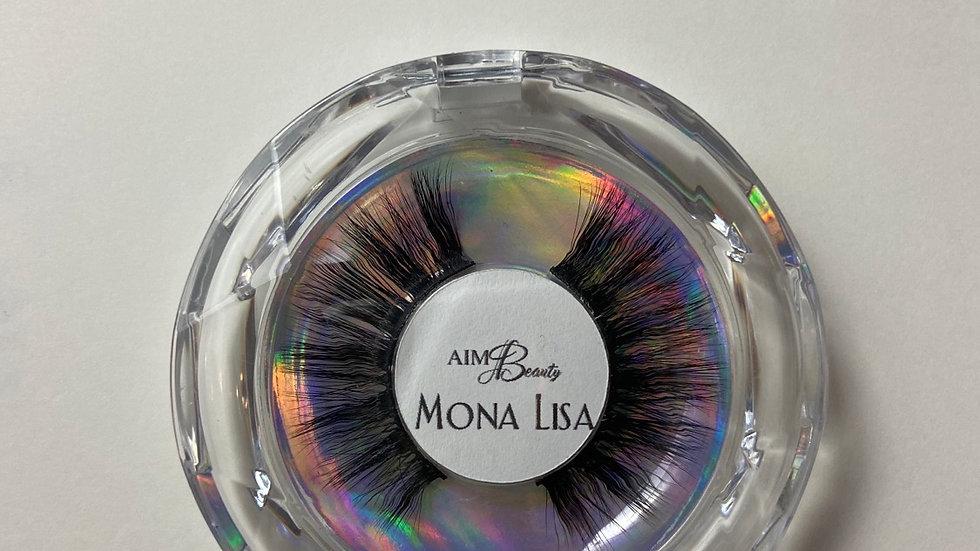 """Mona Lisa"" 3D Minks"