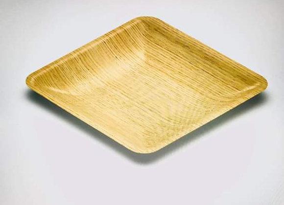 "Areca 8""x8"" Square Plate (1 packet 12 pcs)"