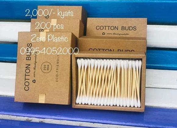 Cotton Buds (1 box 200 pcs)