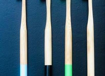 Bamboo Toothbrush ( Round )
