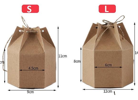 Kraft Paper Gift Box (L)