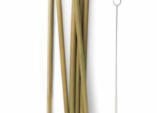 Bamboo Straw - 23 cm