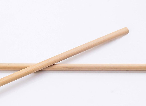 Bamboo Straw - 19 cm