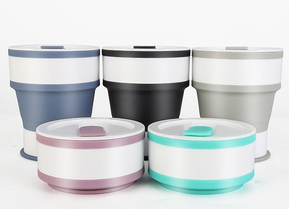 Collapsible Coffee Cup(M 6) 350 ml