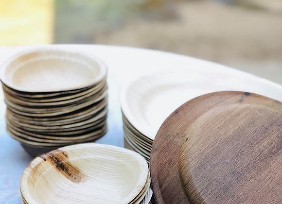 Areca Plate (1 packet 12 pcs)