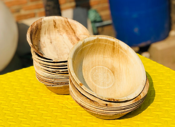 "Areca Bowl 8"" (1 packet 12 pcs)"