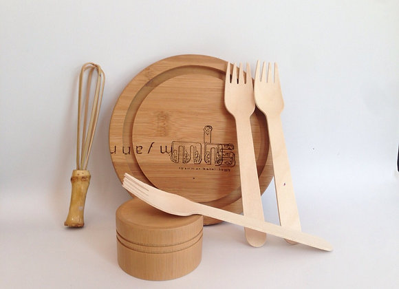 Disposable Fork ( 1 packet - 100 pcs )