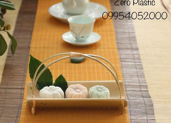 Bamboo Food Stand