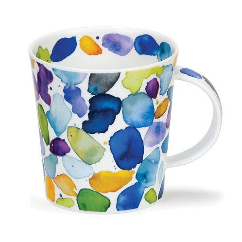Lomond Blobls! Blue Coffee and Tea Mug- Dunoon fine English bone china