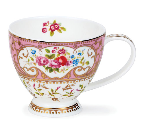 Skye Roseanne Pink- Dunoon fine English bone china