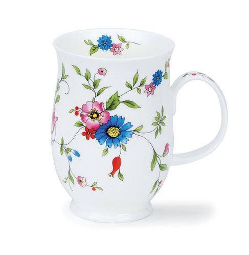 Suffolk Serenity Blue Coffee and Tea Mug- Dunoon fine English bone china