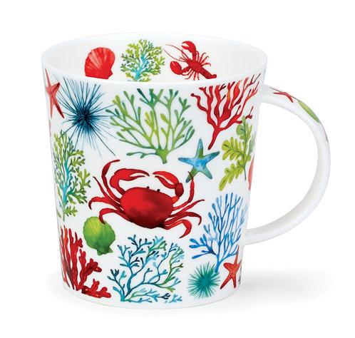 Lomond Under the Sea - Red - Dunoon fine English bone china