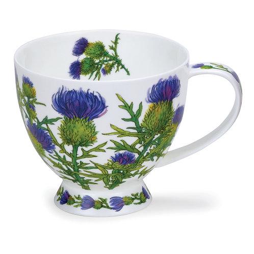 Skye Scottish Thistle- Dunoon fine English bone china