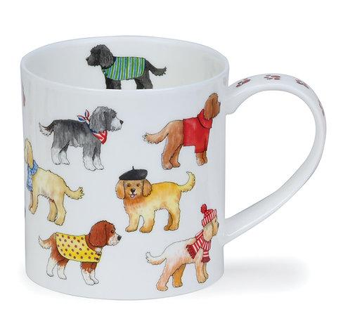 Orkney Dashing Dogs - Cockapoo - Dunoon fine English bone china